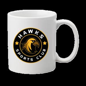 Hawks muki pyöreällä logolla